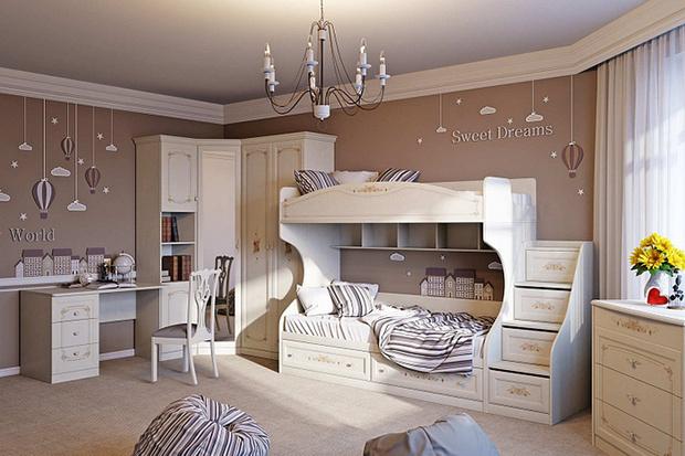 Фото №2 - Как правильно выбрать мебель в детскую комнату?
