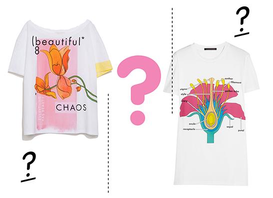 Фото №1 - Дорого-дешево: футболка с цветком