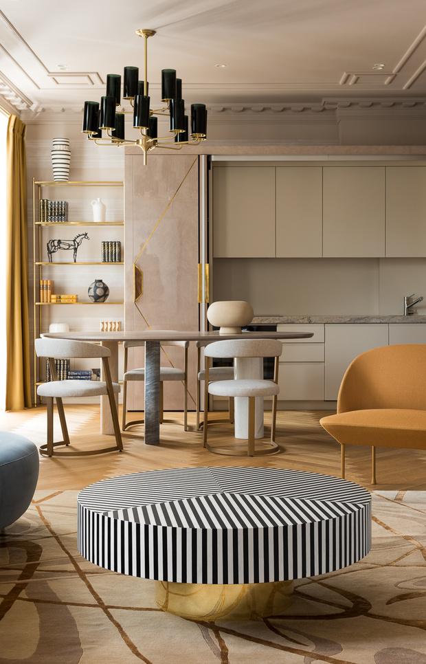 Фото №1 - Квартира на Саввинской набережной 74 м²