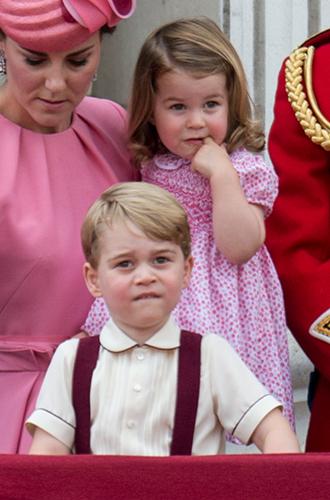 Фото №4 - Трогательные фото детей герцогини Кембриджской на празднике Trooping The Colour