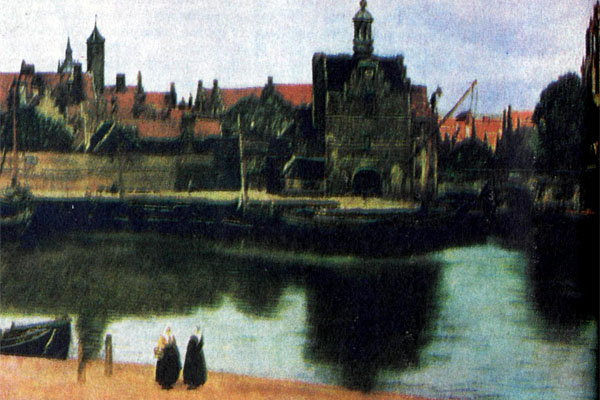 Фото №1 - Триста лет спустя, или Путешествие с Яном Вермеером по городу Дельфту