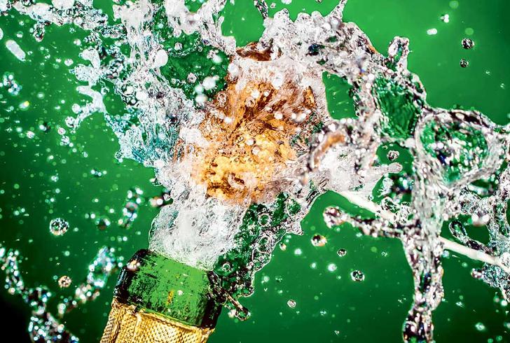 Фото №1 - Пузырьковый эффект: почему шампанское оказывает на нас такое воздействие