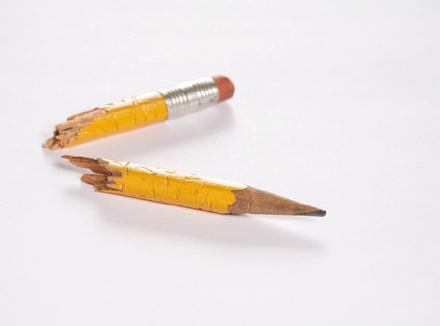 Сломанный карандаш