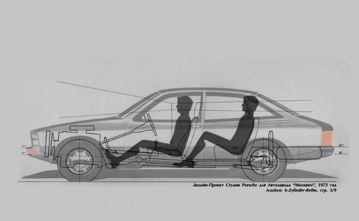 Фото №4 - Байки из гаража: как инженеры Porsche хотели «Москвич» улучшить