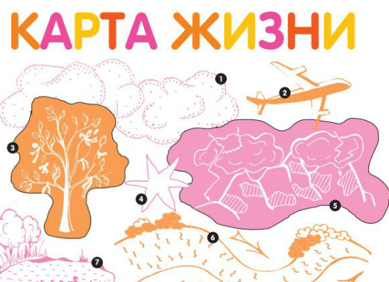 Фото №1 - Игра – «карта жизни»