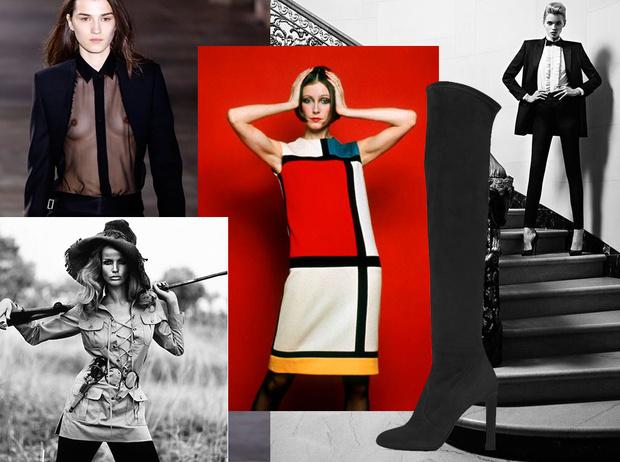 Фото №1 - Вещи-легенды: модное наследие Yves Saint-Laurent