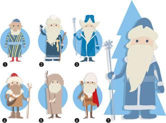 Фото №3 - Новогодний легион: как называется Дед Мороз в других странах