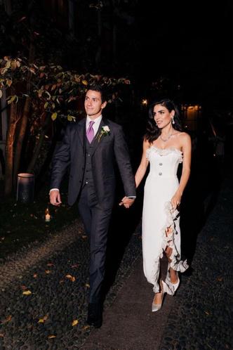 Фото №6 - Самые стильные звездные невесты 2020 года, которые нас впечатлили