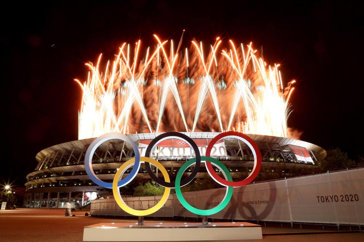 Фото №1 - Как прошло открытие Олимпиады в Токио: самые яркие кадры