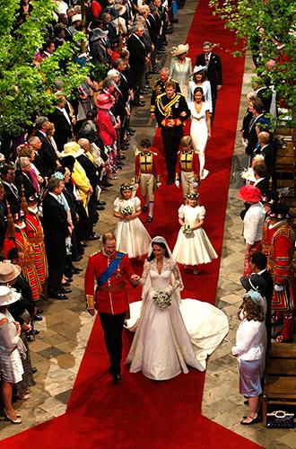 Фото №18 - Факты о свадьбе Кейт Миддлтон и принца Уильяма, о которых вы могли не знать