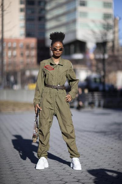 Street Style: NYFW осень-зима 2019/20