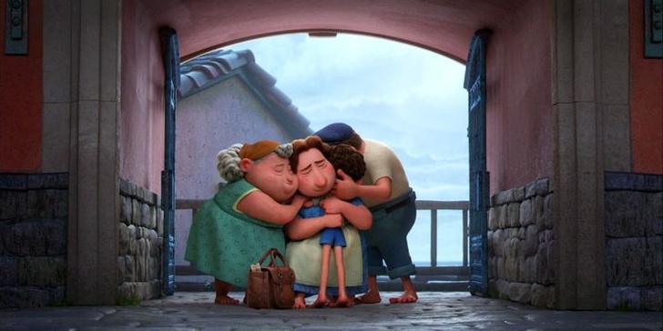 Фото №9 - 10 невероятно прекрасных и трогательных сцен из мультфильма «Лука» от Pixar 🌊