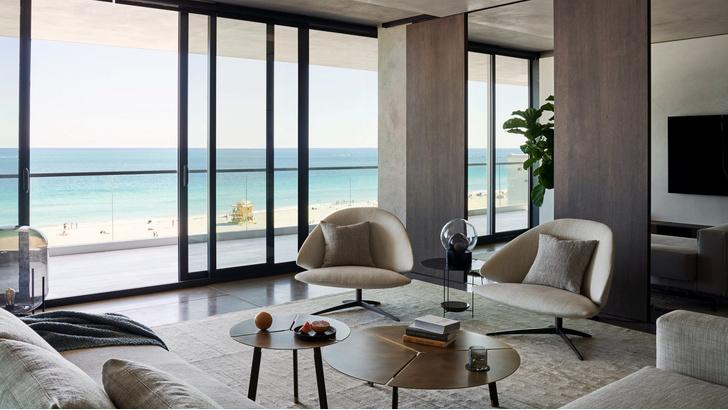 Фото №1 - Квартира в светлых тонах в Майами-Бич