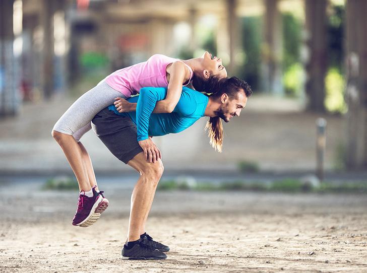 Фото №7 - 6 причин, почему заниматься спортом нужно с любимыми