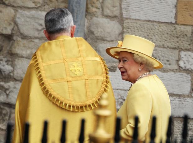 Фото №7 - Самые забавные моменты на королевских свадьбах (истории в фотографиях)