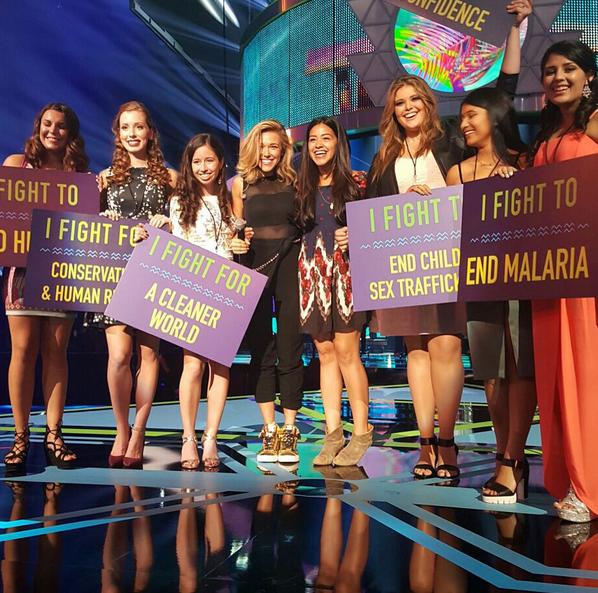 Фото №15 - Звездный Instagram: Teen Choice Awards 2015