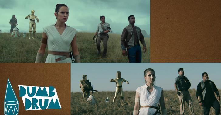 Фото №1 - Фанаты сняли низкобюджетный трейлер «Звездных войн: Скайуокер. Восход»