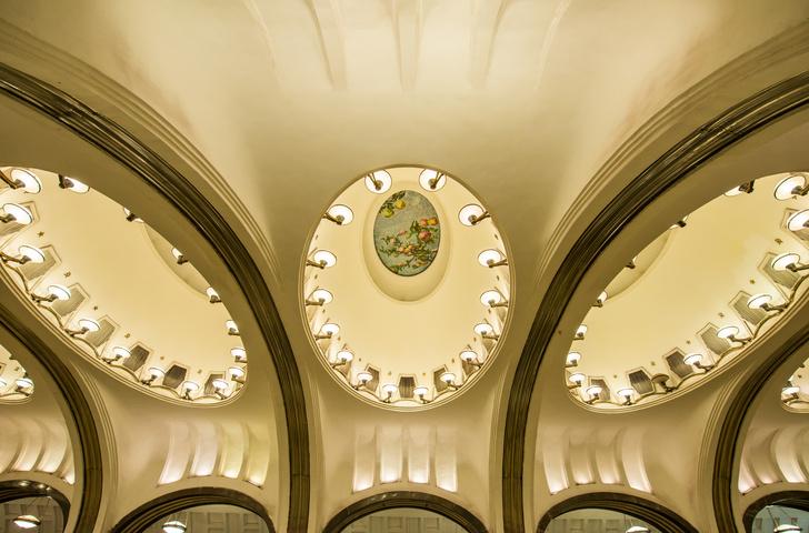 Фото №3 - Небесные своды Московского метро