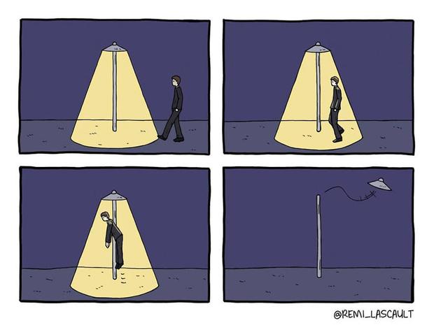 Фото №11 - 19 комиксов для ценителей черного юмора от французского художника