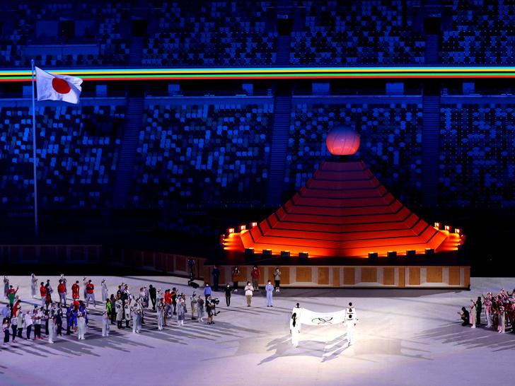 Фото №4 - Как прошло открытие Олимпиады в Токио: самые яркие кадры