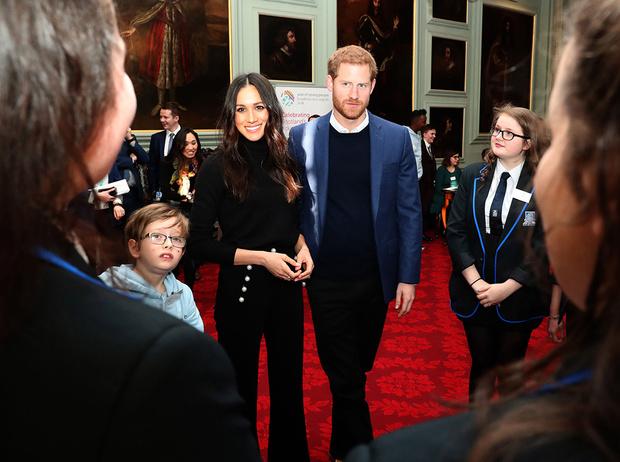 Фото №13 - Принц Гарри и Меган Маркл накануне Дня всех влюбленных приехали в Шотландию