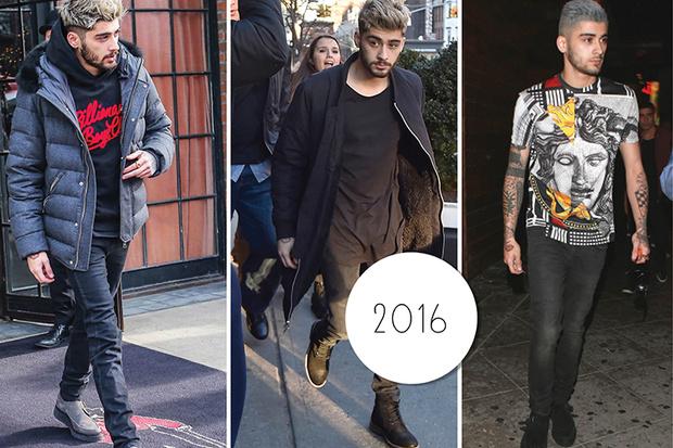 Эволюция стиля Зейна Малика: 2015 – 2016 год