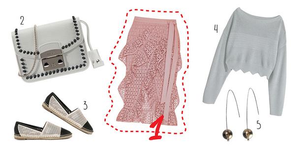 Фото №2 - С чем носить юбку с воланами