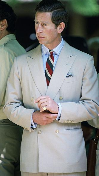 Фото №2 - Загадочное украшение: что означает кольцо на мизинце принца Чарльза