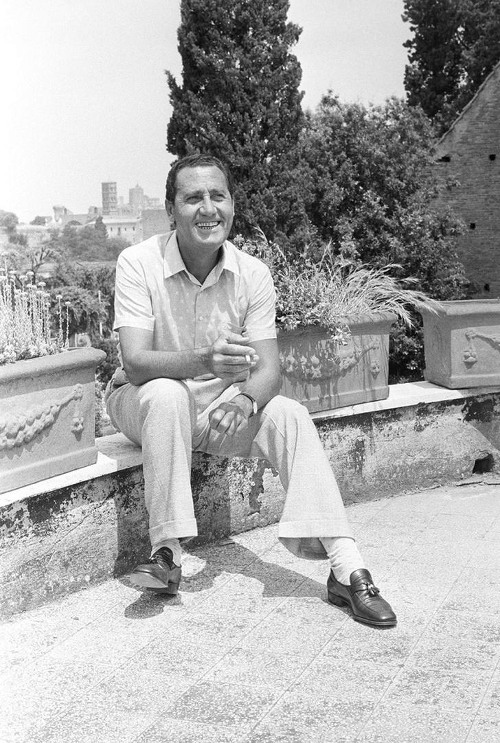 Фото №1 - Вилла актера Альберто Сорди в Тоскане
