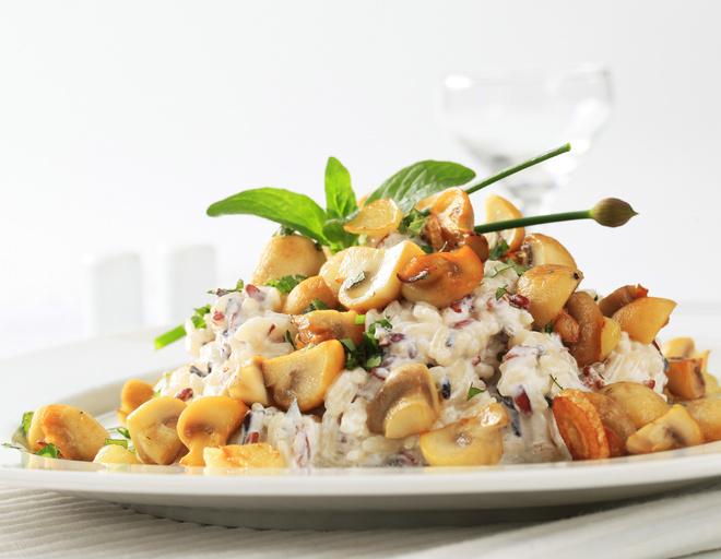 вкусный салат с грибами рецепт