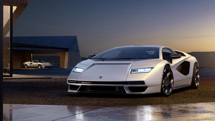 Фото №2 - Не бык. Представлен возрожденный Lamborghini Countach