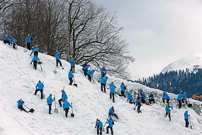Фото №4 - Как работают волонтеры на Олимпиаде в Сочи