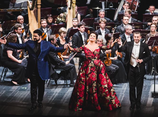 Фото №4 - Состоялся концерт Анны Нетребко и Юсифа Эйвазова при поддержке Chopard