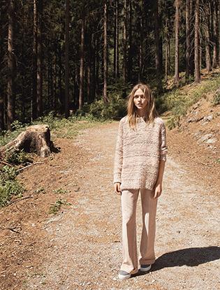 Фото №3 - Саша и волк: Саша Пивоварова для Mango
