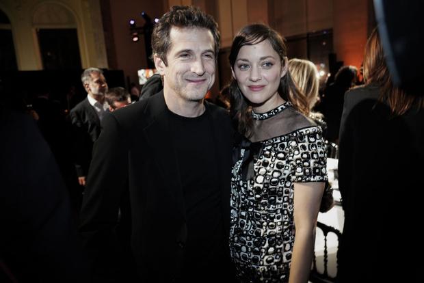 Марион с мужем