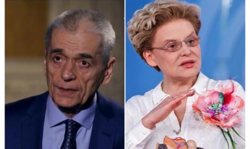 Фото №1 - «Солнышко меня не освещает»: Онищенко и Малышева разошлись во мнениях о коронавирусе