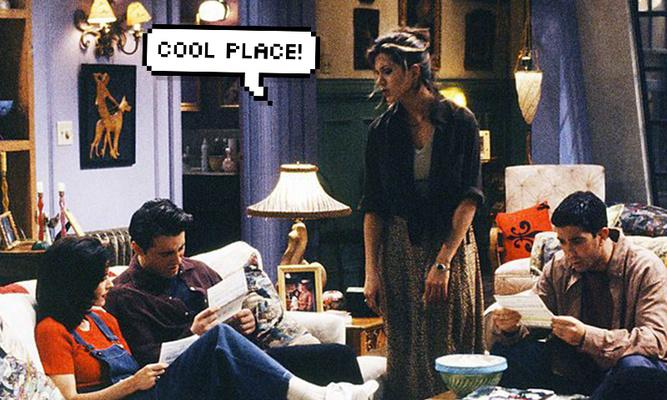 Фото №1 - Тест: В какой известной сериальной квартире ты могла бы поселиться?