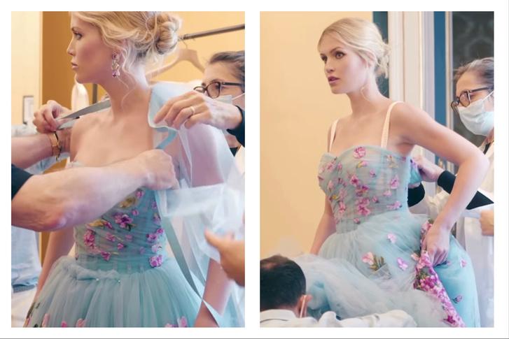 Фото №2 - Абсолютный рекорд: пять кутюрных платьев невесты на королевской свадьбе Китти Спенсер