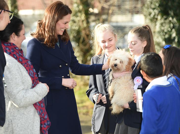 Фото №7 - К работе после праздников: первый визит герцогини Кэтрин в 2018 году