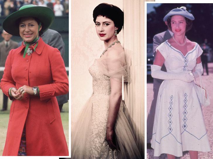 Фото №1 - Стиль принцессы Маргарет: главные модные уроки от сестры Елизаветы II