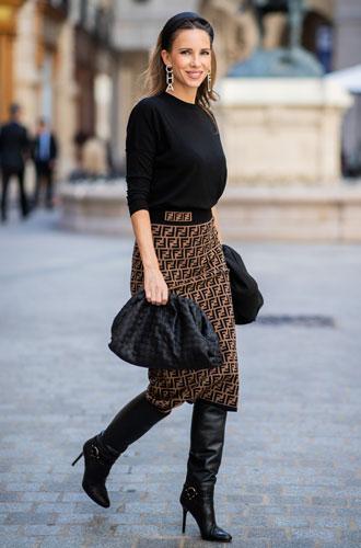 Фото №6 - С чем носить миди-юбки: 6 сочетаний, которые нужно попробовать