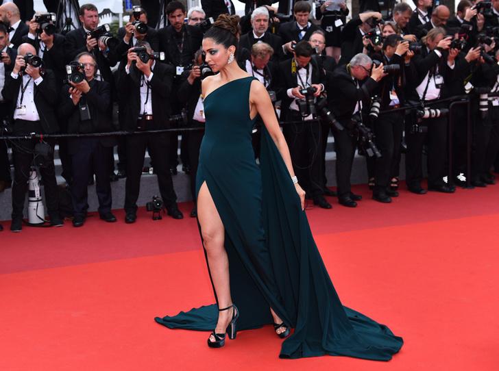 Фото №15 - Модные Канны-2017: Винни Харлоу, Адриана Лима и другие красавицы вечера премьер 18 мая