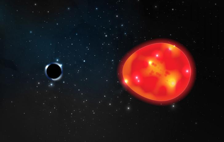 Фото №1 - Обнаружена ближайшая к Земле черная дыра