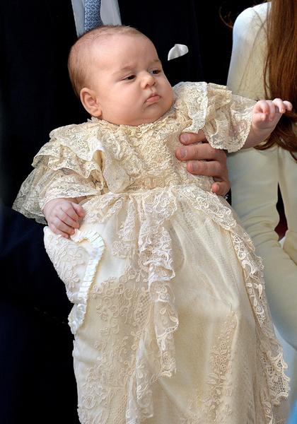 Фото №7 - Принц Джордж Кембриджский: три года в фотографиях