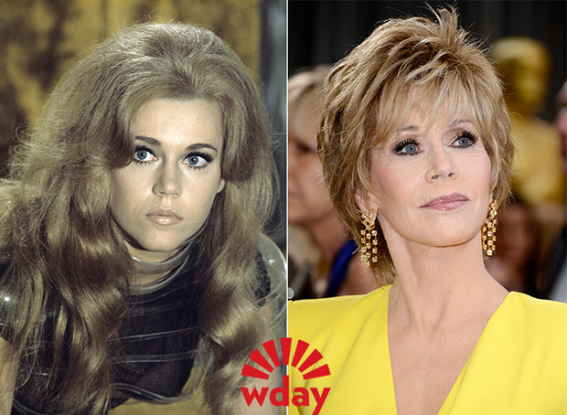 Старение звезд Голливуда фото в молодости и сейчас