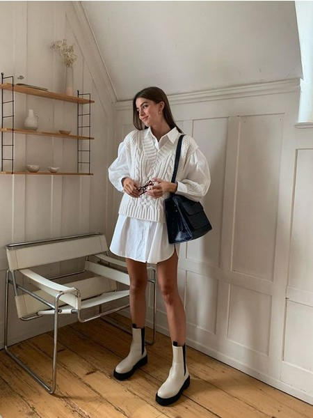 Фото №2 - Вопрос дня: как носить летнее платье зимой