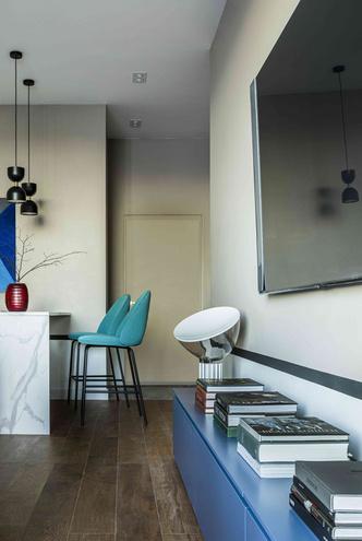Фото №6 - Минималистичный интерьер в теплых тонах для двухкомнатной квартиры