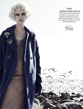 Фото №2 - Видео: бекстейдж со съемок лучших пальто сезона для Marie Claire