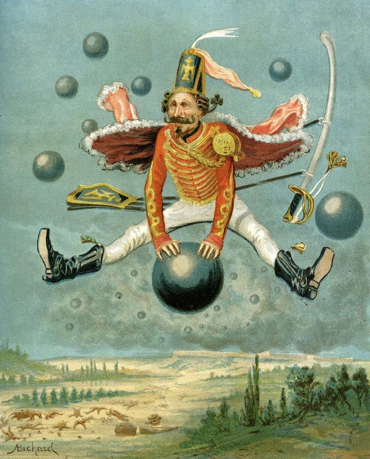 Фото №3 - 235 лет назад… Человек впервые поднялся в воздух на летательном аппарате