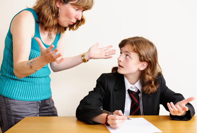 Когда родители «давят» на детей